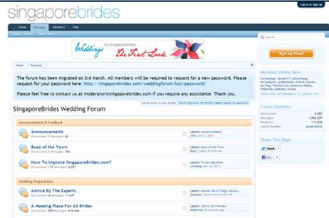 SingaporeBrides Forum